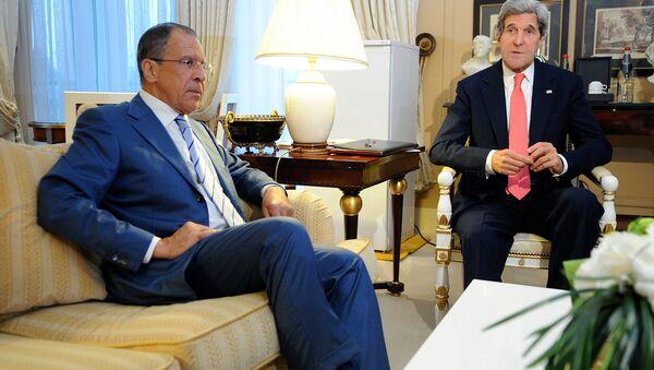 Lavrov và Kerry - Sputnik Việt Nam