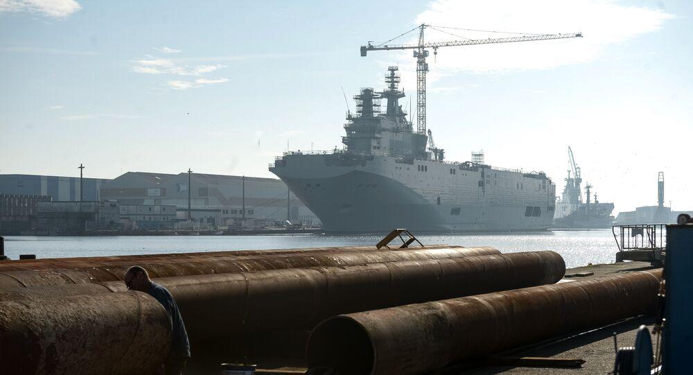 Tàu chở trực thăng Sevastopol loại Mistral