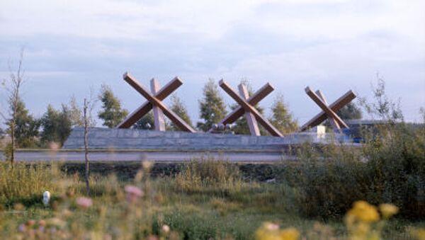 Đài tưởng niệm Hàng rào nhím chống tăng - Sputnik Việt Nam