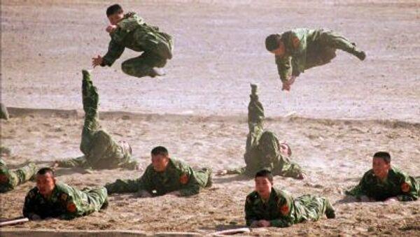 Các quân nhân Trung Quốc - Sputnik Việt Nam