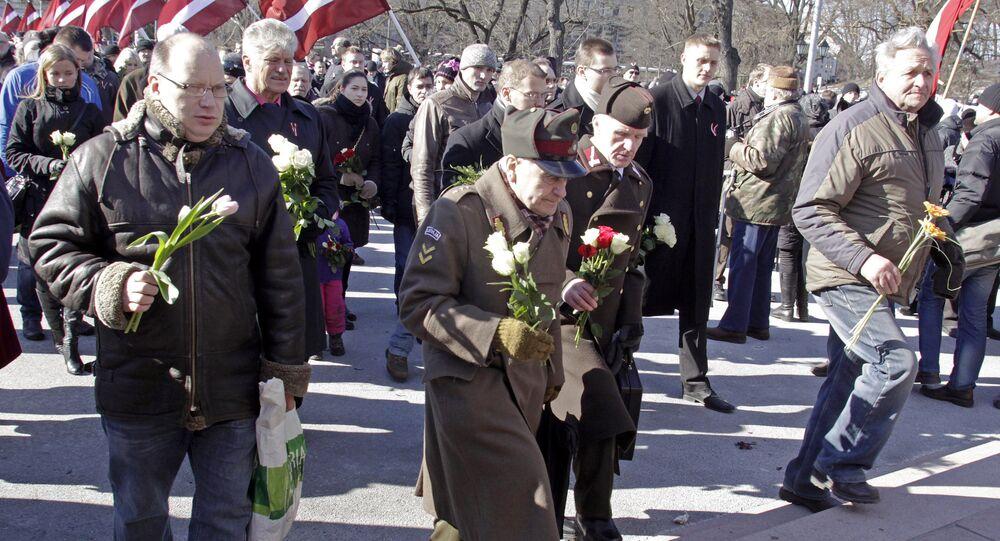 Cựu binh lê-dương SS Latvia và những phần tử ủng hộ