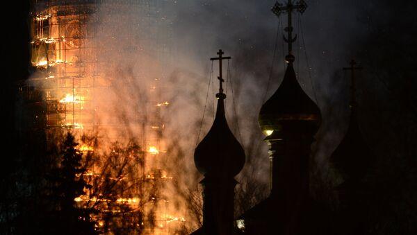 Hỏa hoạn trong Tu viện Novodevichy - Sputnik Việt Nam