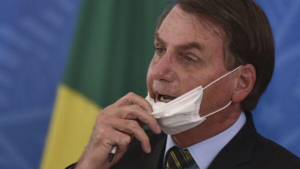 Tổng thống Brazil Jair Bolsonaru - Sputnik Việt Nam