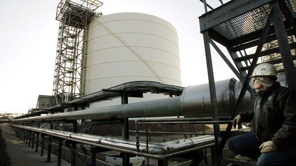 Kho chứa khí tự nhiên hóa lỏng của Mỹ. - Sputnik Việt Nam