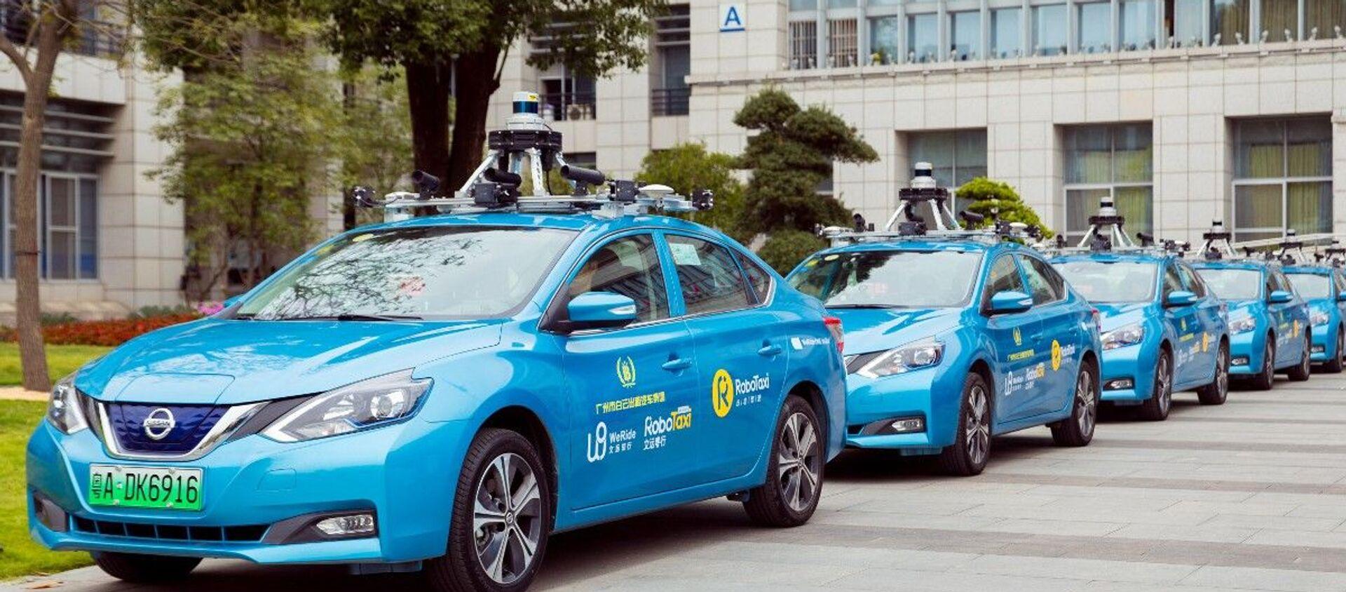 Tại sao Trung Quốc coi trọng sự phát triển của taxi không người lái? - Sputnik Việt Nam, 1920, 13.07.2020