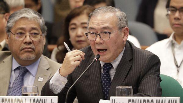 Bộ trưởng Ngoại giao Philippines Theodoro Loxin - Sputnik Việt Nam