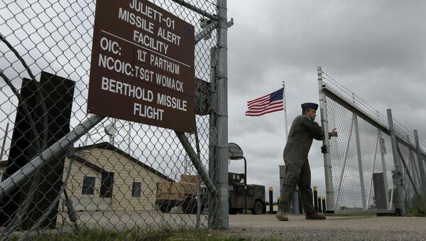 Căn cứ điều khiển tên lửa đạn đạo liên lục địa ở bang Bắc Dakota. - Sputnik Việt Nam