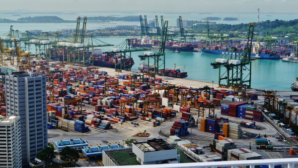 Cảng singapore - Sputnik Việt Nam