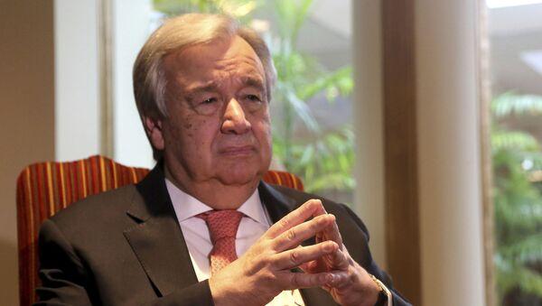 Tổng thư ký LHQ, ông Antonio Guterres - Sputnik Việt Nam