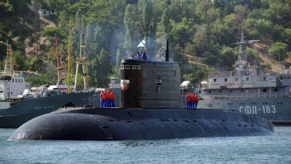 Tàu ngầm Krasnodar của Nga - Sputnik Việt Nam