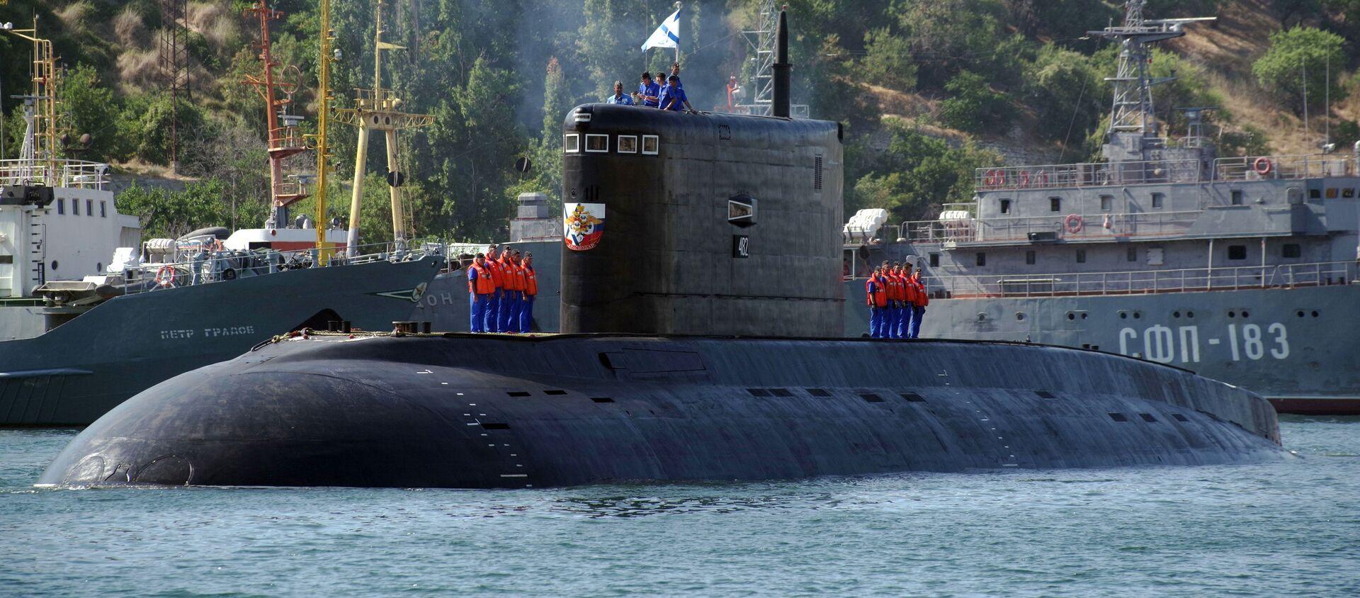 Tàu ngầm Krasnodar của Nga - Sputnik Việt Nam, 1920, 23.07.2020