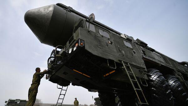 Tên lửa chiến lược liên lục địa RS-24 Yars - Sputnik Việt Nam