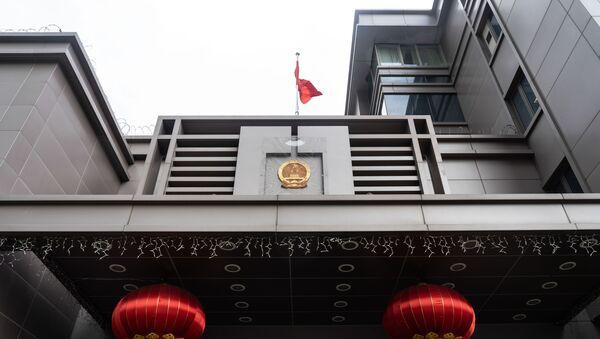 Tổng lãnh sự quán Trung Quốc tại Houston. - Sputnik Việt Nam
