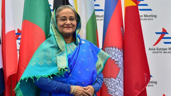Thủ tướng Bangladesh Sheikh Hasina - Sputnik Việt Nam