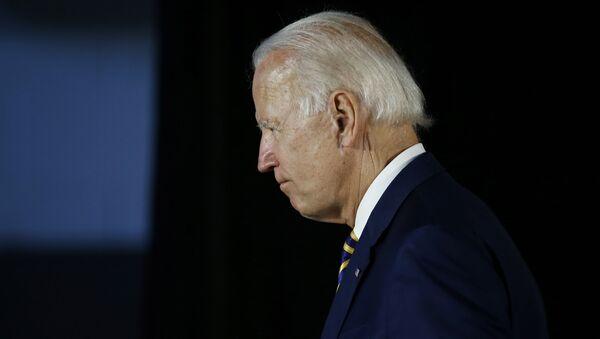 Ứng cử viên tổng thống dân chủ Joe Biden - Sputnik Việt Nam