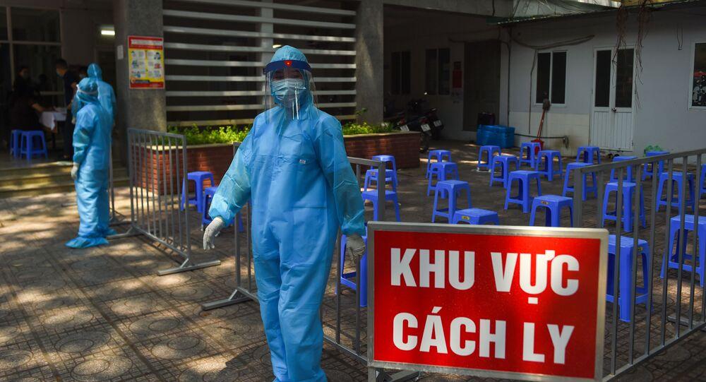 Trung tâm xét nghiệm nhanh chóng về coronavirus tại Hà Nội, Việt Nam