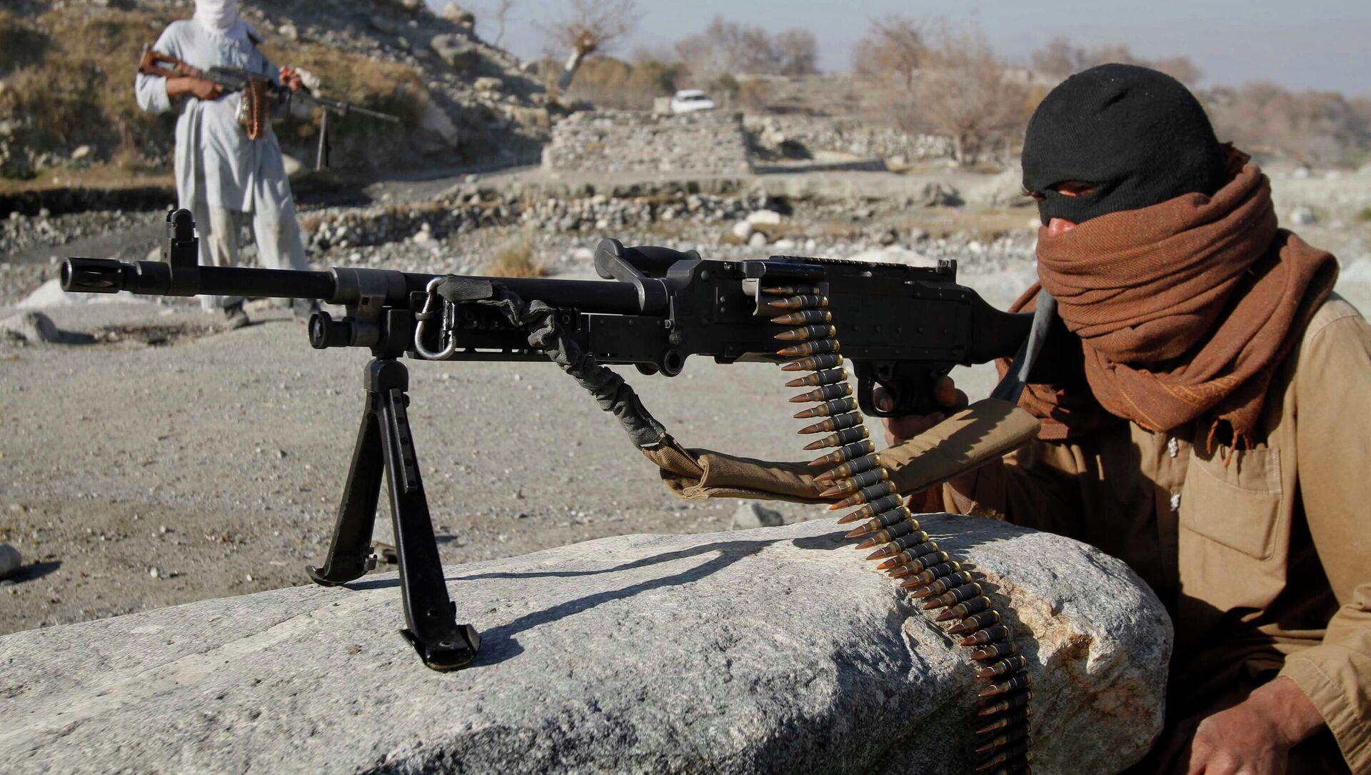 Dân quân phong trào cực đoan Taliban ở Afghanistan. - Sputnik Việt Nam, 1920, 14.04.2021