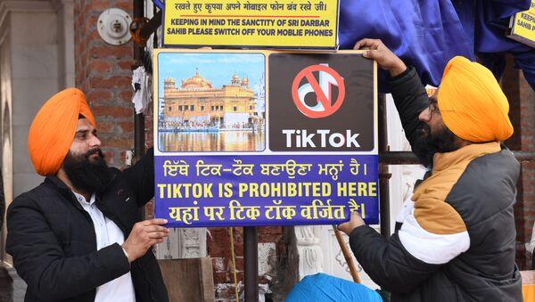 Việc cấm tiktok ở Ấn Độ - Sputnik Việt Nam