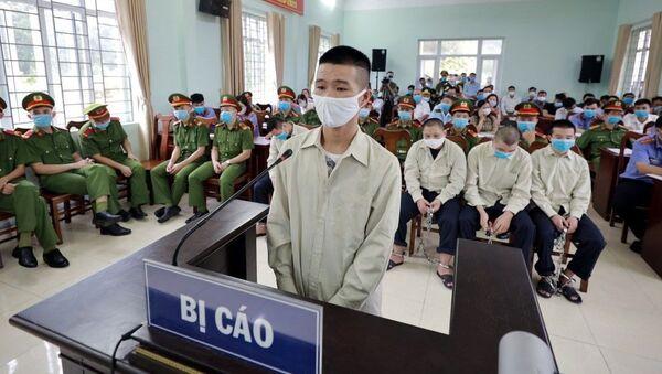 Đối tượng Voòng A Sủi tại phiên tòa. - Sputnik Việt Nam