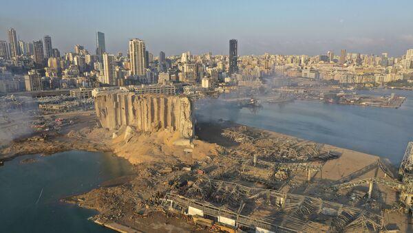 Cảng Beirut sau vụ nổ - Sputnik Việt Nam