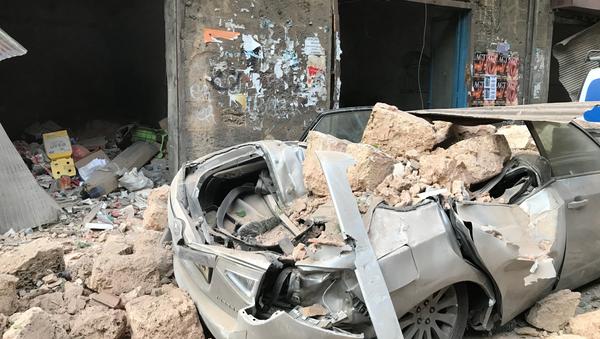 Hậu quả của vụ nổ ở Beirut - Sputnik Việt Nam