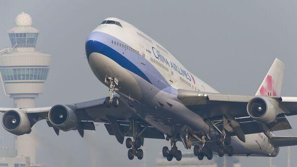 Máy bay của Hãng China Airlines của Đài Loan - Sputnik Việt Nam