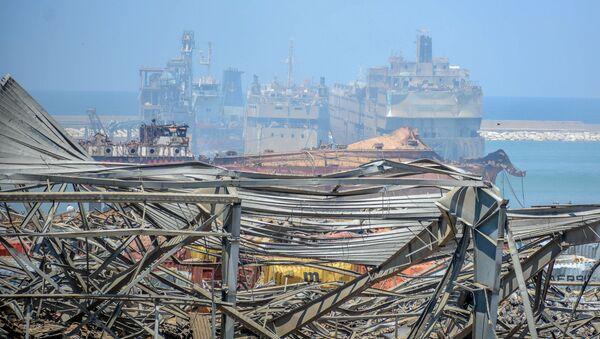 Hậu quả của vụ nổ mạnh ở cảng Beirut - Sputnik Việt Nam