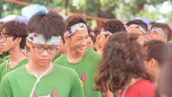 Học sinh Trường chuyên ngoại ngữ Đại học Quốc gia Hà Nội - Sputnik Việt Nam