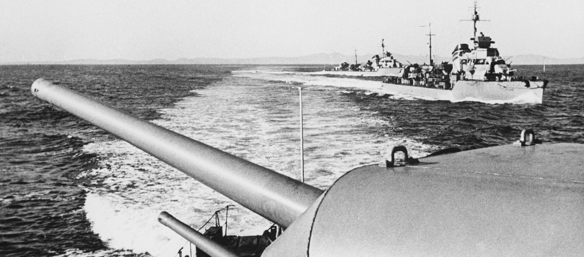 Chiến tranh Xô-Nhật (một bộ phận của Thế chiến II, chiến dịch Mãn Châu ngày 9 tháng 8 đến 2 tháng 9 năm 1945). - Sputnik Việt Nam, 1920, 09.08.2020