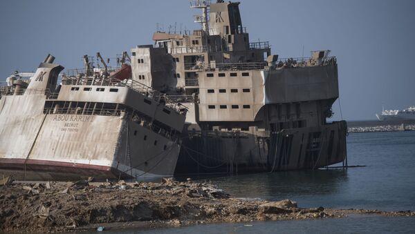 Vụ nổ ở Beirut. - Sputnik Việt Nam