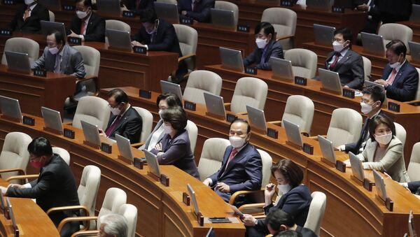 Quốc hội tại Seoul, Hàn Quốc. - Sputnik Việt Nam