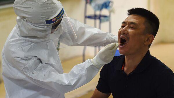 Xét nghiệm coronavirus ở Hà Nội. - Sputnik Việt Nam