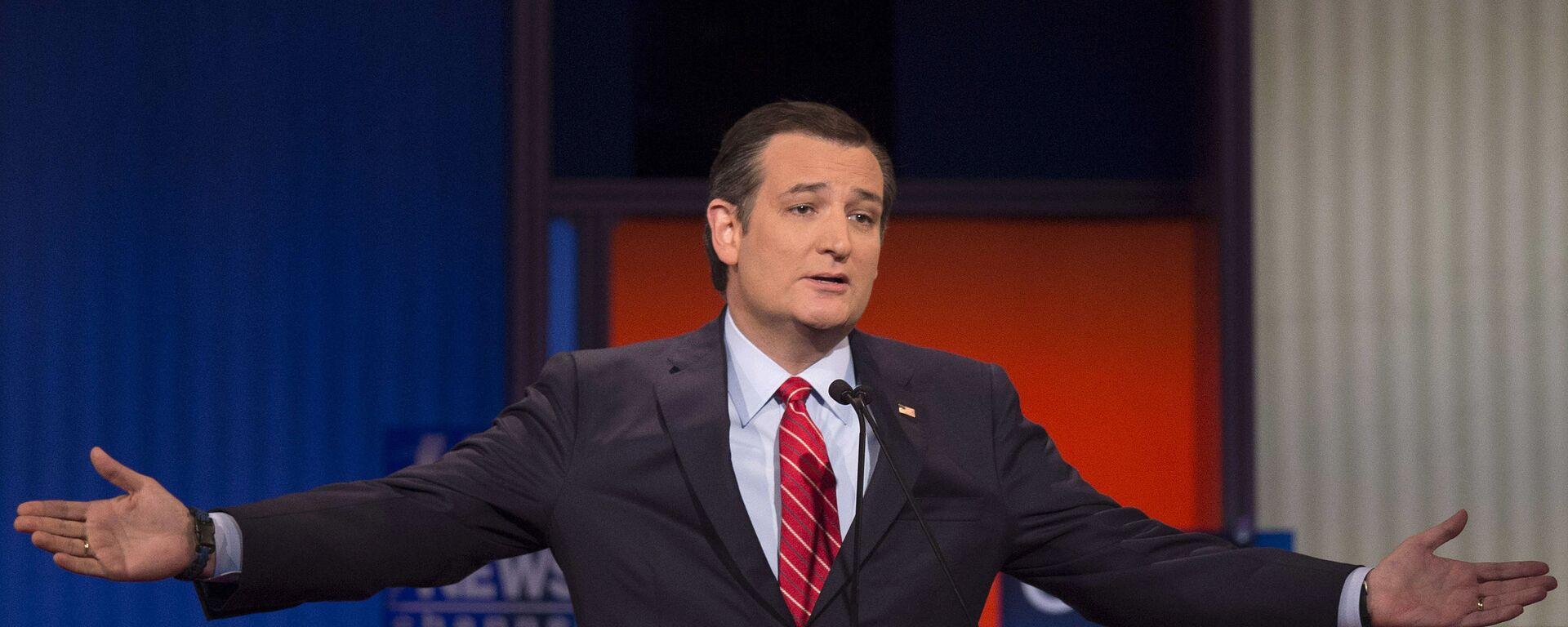 Thượng nghị sĩ Ted Cruz - Sputnik Việt Nam, 1920, 03.10.2021