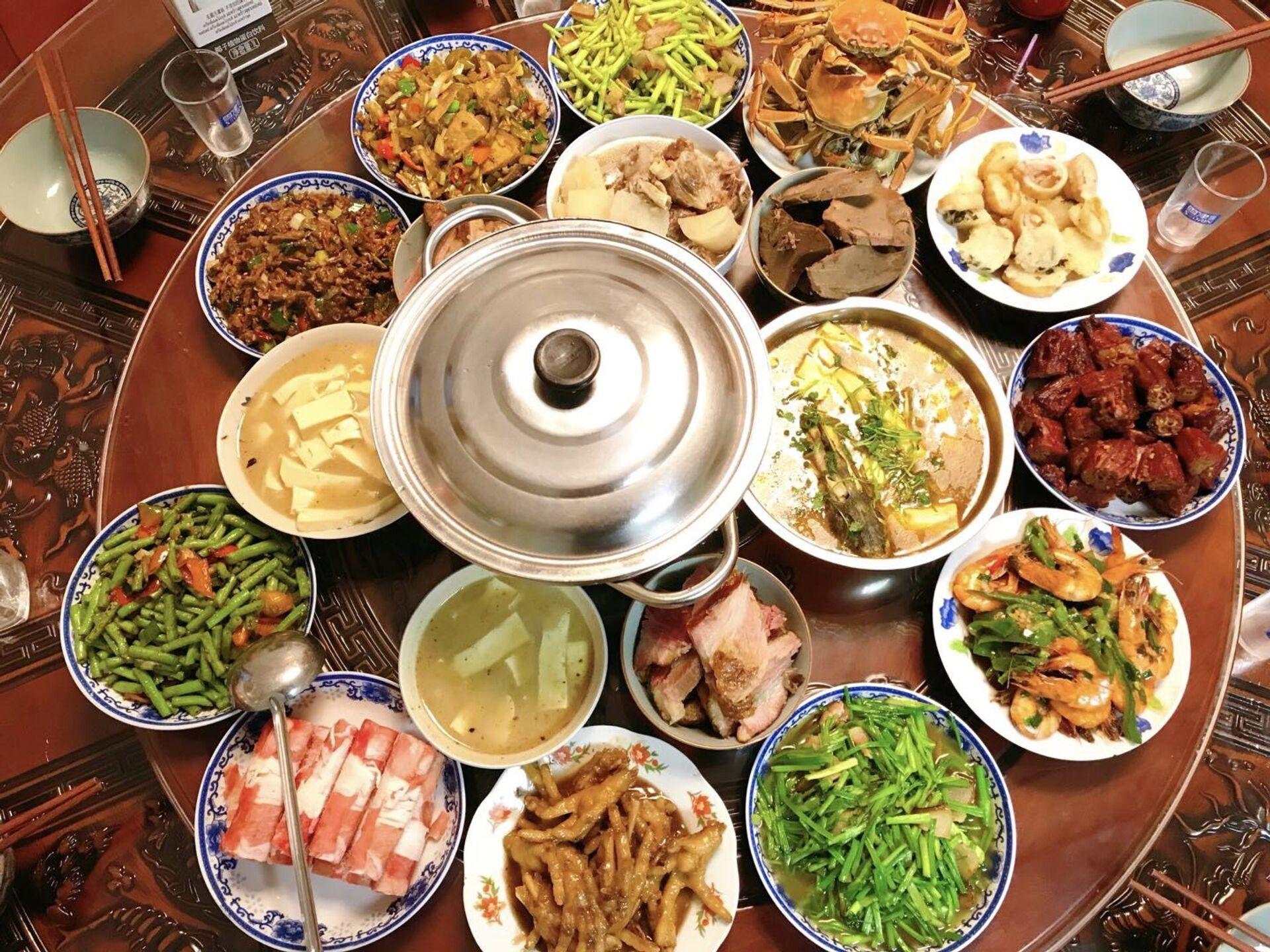 Trung Quốc bắt đầu phạt vì tuyên truyền thói háu ăn, lãng phí thực phẩm - Sputnik Việt Nam, 1920, 06.05.2021