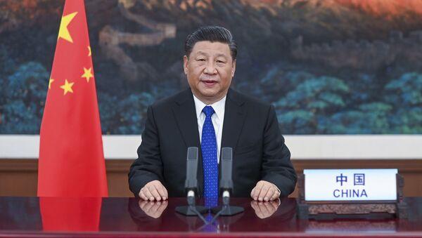 Chủ tịch nước Cộng hòa Nhân dân Trung Hoa Tập Cận Bình - Sputnik Việt Nam