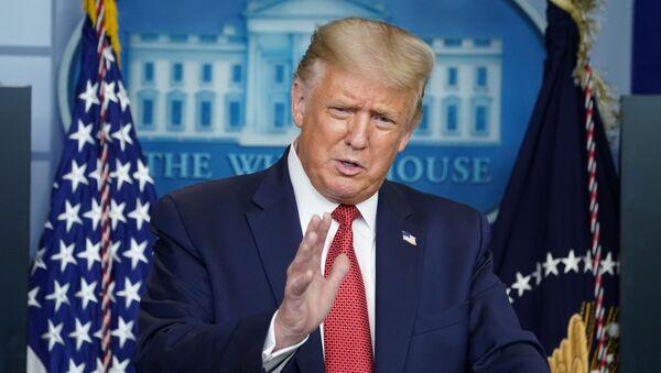 Tổng thống Hoa Kỳ Donald Trump - Sputnik Việt Nam