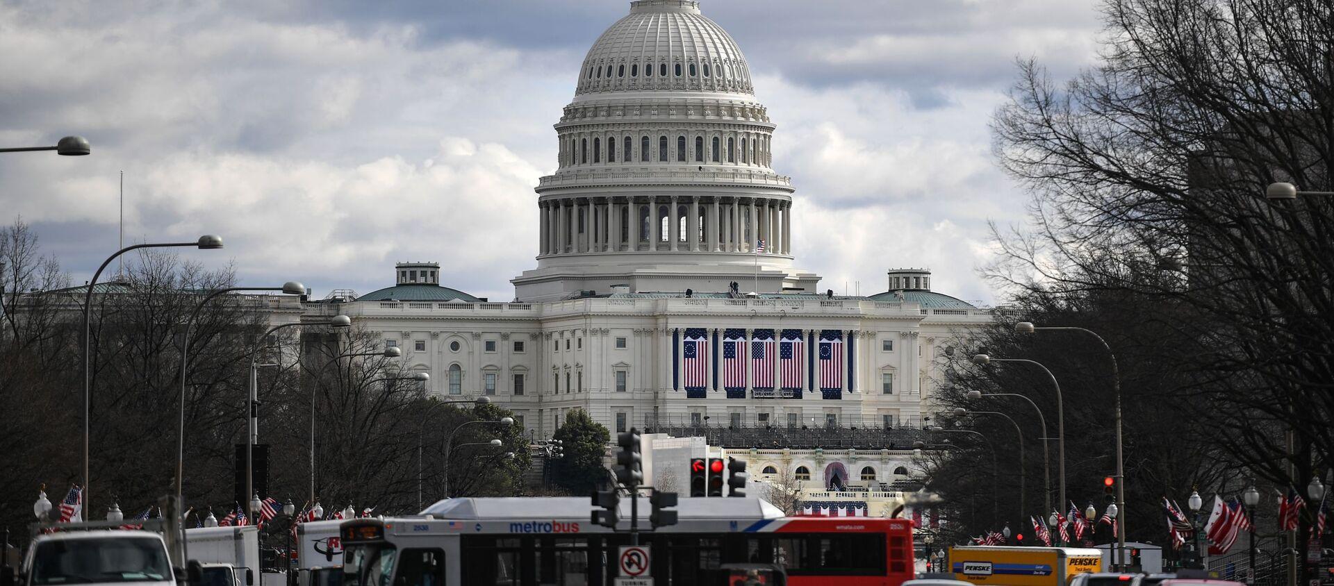 Quang cảnh Điện Capitol ở Washington - Sputnik Việt Nam, 1920, 12.08.2020