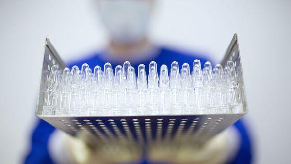 Sản xuất vắc xin chống COVID-19 tại nhà máy dược phẩm Binnopharm ở tỉnh Moskva - Sputnik Việt Nam
