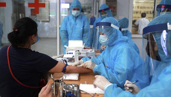 Tiến hành xét nghiệm coronavirus ở Hà Nội - Sputnik Việt Nam