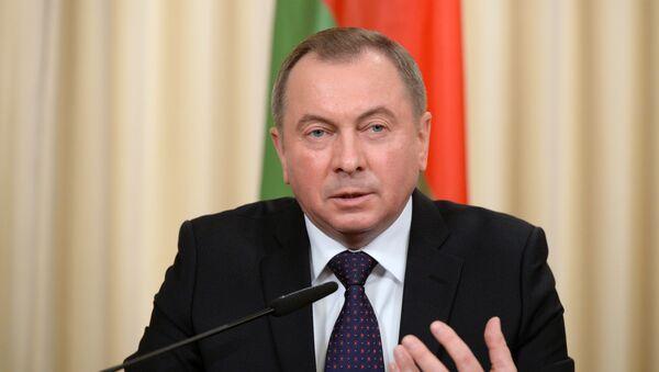 Ngoại trưởng Belarus Vladimir Makei - Sputnik Việt Nam