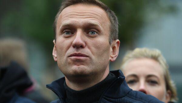 Lãnh đạo đối lập Nga Alexei Navalny. - Sputnik Việt Nam