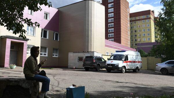 Bệnh viện Omsk nơi Alexei Navalnyđang được điều trị. - Sputnik Việt Nam