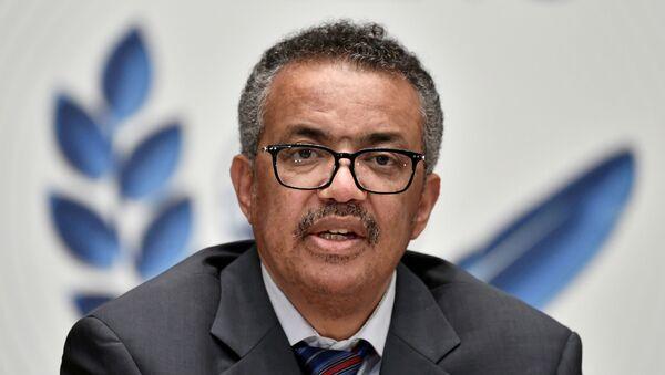 Giám đốc điều hành của Tổ chức Y tế Thế giới Tedros Adhanom Ghebreyesus - Sputnik Việt Nam