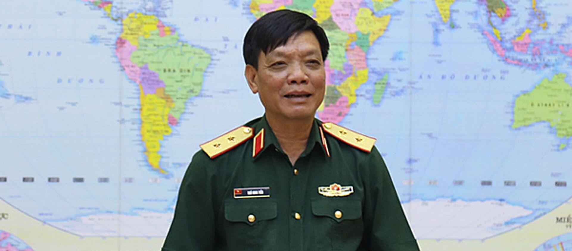 Phó Tổng Tham mưu trưởng Quân đội nhân dân Việt Nam, Trung tướng Ngô Minh Tiến - Sputnik Việt Nam, 1920, 25.08.2020