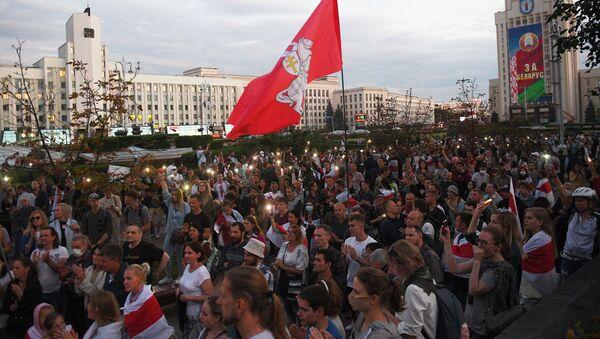 Biểu tình ở Minsk - Sputnik Việt Nam