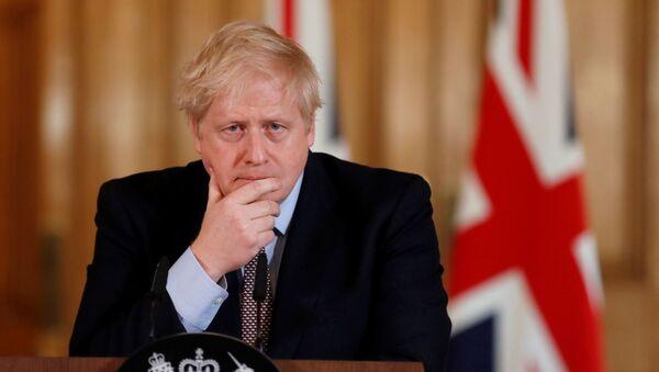 Thủ tướng Anh Boris Johnson - Sputnik Việt Nam