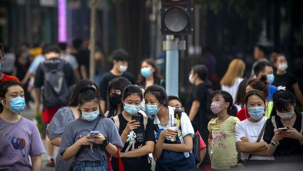 Những người đeo mặt nạ ở Bắc Kinh - Sputnik Việt Nam
