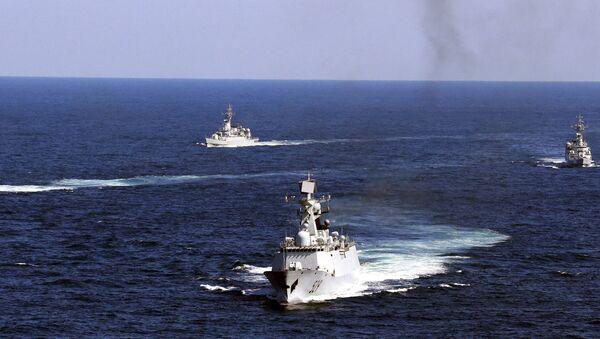 Hải quân Trung Quốc tập trận ngoài khơi quần đảo Zhoushan ở miền đông Trung Quốc - Sputnik Việt Nam