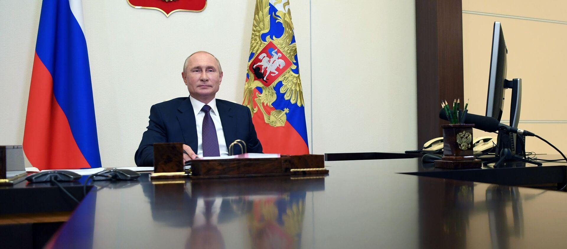 Vladimir Putin - Sputnik Việt Nam, 1920, 10.09.2020