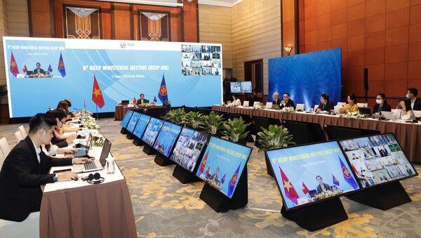 Quang cảnh hội nghị tại đầu cầu Hà Nội - Sputnik Việt Nam
